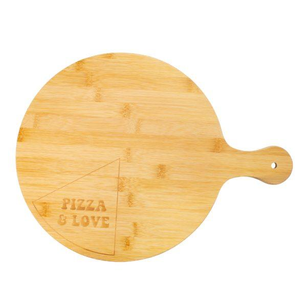 Bamboo Pizza Serving Board