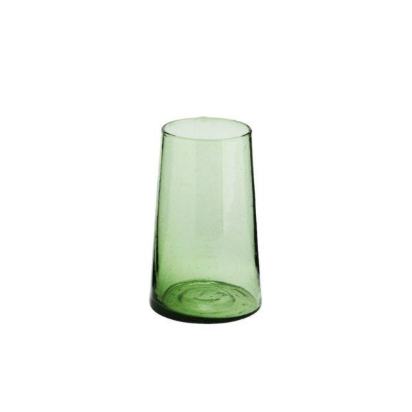 Beldi Green Drinking Glass