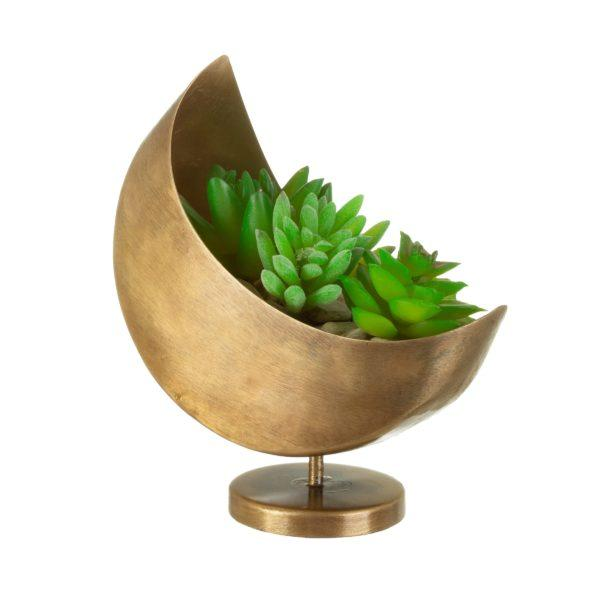 Mojave Dip Glaze Ombre Green Hanging Planter