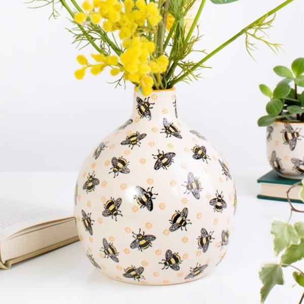 Busy Bee Large Vase