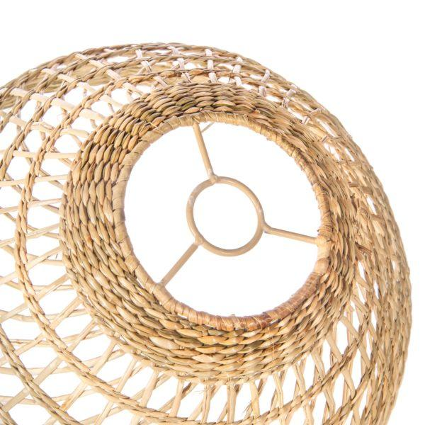 Round Seagrass Lampshade