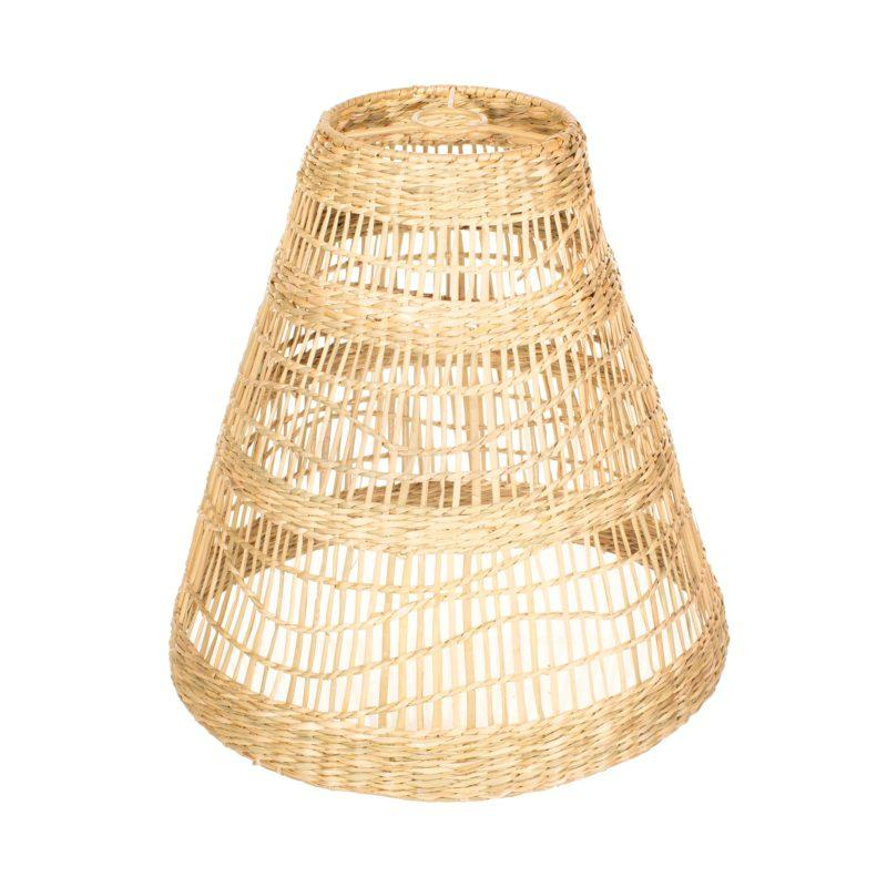 Large Cone Seagrass Lampshade