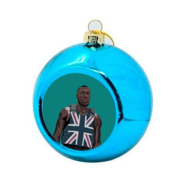 Stormzy Christmas Bauble - Blue