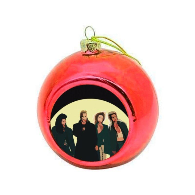 Lost Boys Christmas Bauble - Red