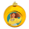 Queen Bey Beyonce Christmas Bauble - Gold