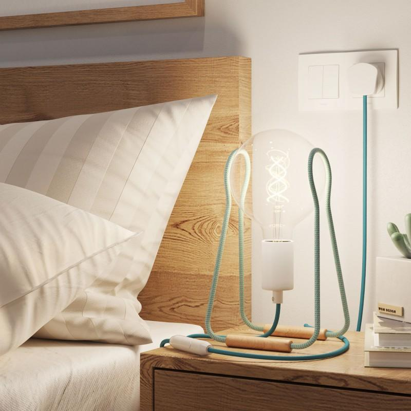 Tache Table Lamp - Turquoise